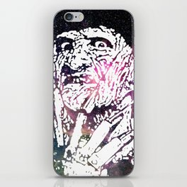 Galaxy Robert Englund Freddy Krueger iPhone Skin