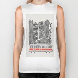 Boston City Illustration Biker Tank