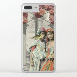 I BEG YOUR PARDON Clear iPhone Case