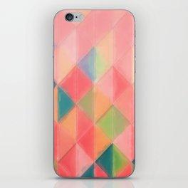 Harlequin Pattern iPhone Skin