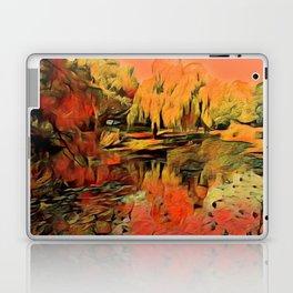 Autumn at the lake Laptop & iPad Skin