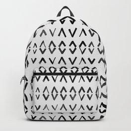 Scandinavian Diamond Pattern Backpack