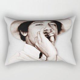 Barack Obama Smoking weed Rectangular Pillow
