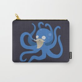 Octobeard Blue Mix Carry-All Pouch