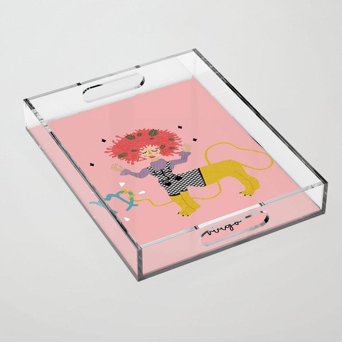 virgo Acrylic Tray