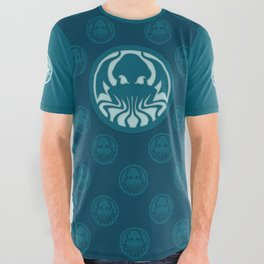 Myths & monsters: Cthulhu All Over Graphic Tee