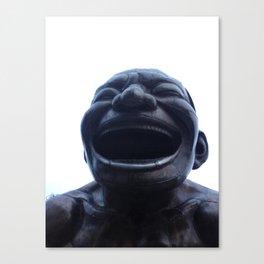 He Laughs Canvas Print