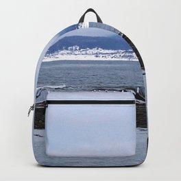 Tourelle In Winter White Backpack