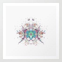 Inkdala LXV Art Print