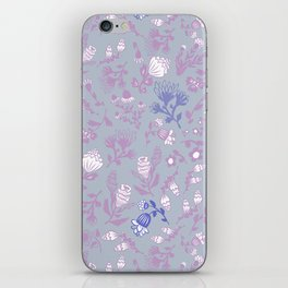 Fist Full of Lilacs iPhone Skin