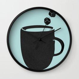 Ice coffee Wall Clock