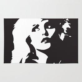 Blondie, Music Legend, Black, White, Cinema, Art, Author, Song Writer, Musician, Punk, Rug