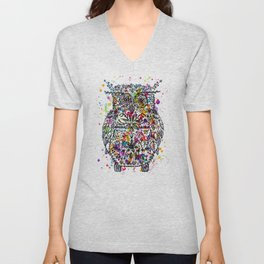 Owl Be Cool Unisex V-Neck