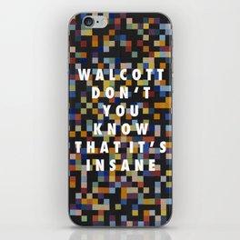 Spectrum Colors Arranged by Walcott iPhone Skin