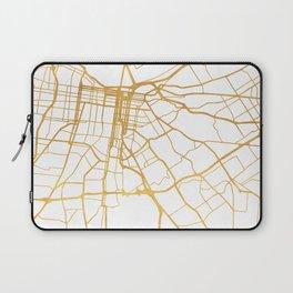 LOUISVILLE KENTUCKY CITY STREET MAP ART Laptop Sleeve