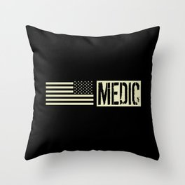 U.S. Military: Medic Throw Pillow