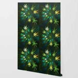 Fantasy Flowers, Fractal Art Wallpaper