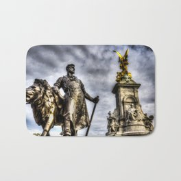 Queen Victoria Memorial London Bath Mat