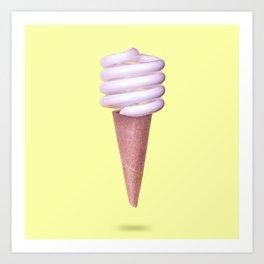 CFL Soft Serve Art Print