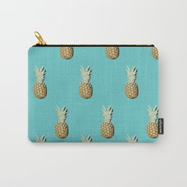 Pop art pineapples all over print Carry-All Pouch