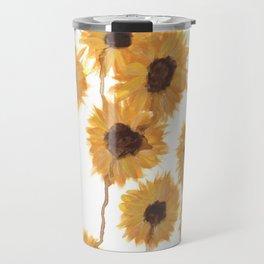 Tearful Sunflowers Travel Mug