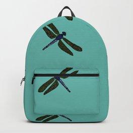 Battimamzelle Design - Blue Backpack