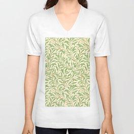"""William Morris """"Willow Bough"""" Unisex V-Neck"""