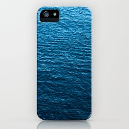 Deep blue sea iPhone Case