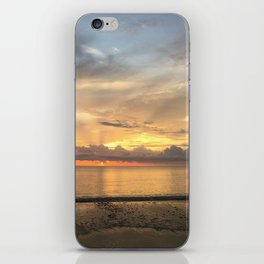 Daintree rainforest Oceanside sunrise iPhone Skin