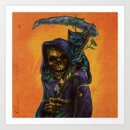 Reaper's Only Friend Art Print