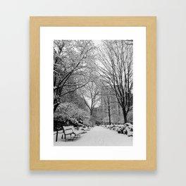 Gramercy Park, New York City Framed Art Print