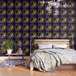 yin yang Ensō zen buddhism purple anise Wallpaper