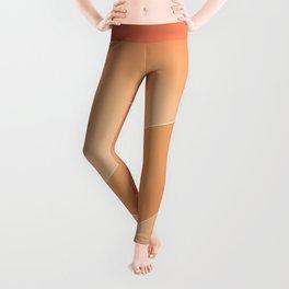 Terracotta, Apricot, Tacao & Porche Colors Leggings