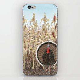 wild turkey & Indian corn iPhone Skin