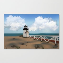 Brant Point Light Canvas Print