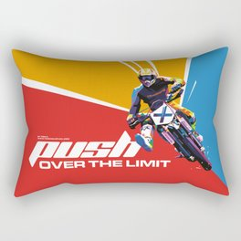 Motocross - Push Over The Limit #2 Rectangular Pillow