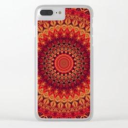 Mandala 261 Clear iPhone Case