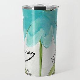 Daisy Morning I Travel Mug