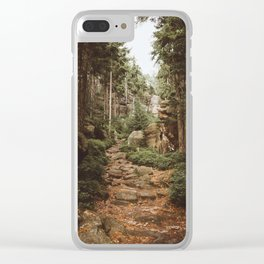 Table Mountains - Landscape and Nature Photography Clear iPhone Case