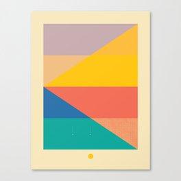Secret Surf Map 006 — Matthew Korbel-Bowers Canvas Print