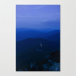 Twilight on the Blue Ridge Parkway Canvas Print