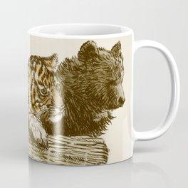 Lions and Tigers and Bears Coffee Mug