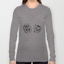Two Roses for my Friends Long Sleeve T-shirt