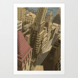 New York, Neeeew Yooooork!! Art Print