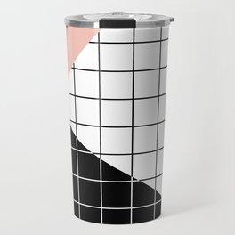 Minimal Geometry Travel Mug