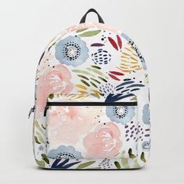 Watercolor Florals Backpack