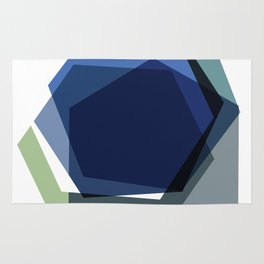 Serenity Hexagons Rug