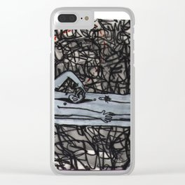 Self Autopsy Clear iPhone Case