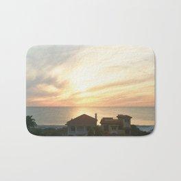 Sundown Over the Gulf Bath Mat