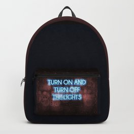 Neon - Turn on and off Backpack